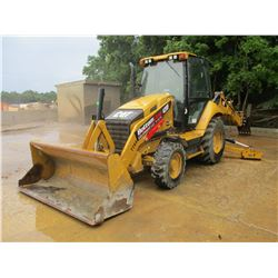 "2013 CAT 420F LOADER BACKHOE, VIN/SN:SKR01823 - 4X4, E-STICK, GP BUCKET, 24"" HOE BUCKET, ECAB W/AC,"
