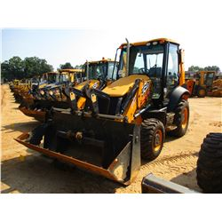 "2015 JCB 3CX LOADER BACKHOE, VIN/SN:JCB3CX4TC02273320 - 4X4, E -STICK, MP BUCKET, 24"" HOE BUCKET, 48"