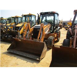 "2014 CASE 580N LOADER BACKHOE, VIN/SN:NEFC717172 - 4X4, E-STICK, GP BUCKET, 24"" HOE BUCKET, ECAB W/A"