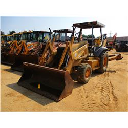CASE 580 SUPER L LOADER BACKHOE, VIN/SN:JJG0204399 - 4X4, E-STICK, GP BUCKET, CANOPY, METER READING