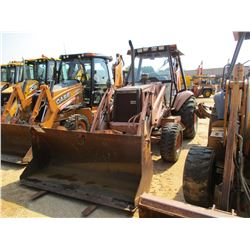 "CASE 580SK TURBO LOADER BACKHOE, VIN/SN:JJG0185435 - 4X4, E-STICK, GP BUCKET, FORKS, 30"" HOE BUCKET,"