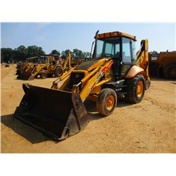 "2005 JCB 214E LOADER BACKHOE, VIN/SN:905863 - E-STICK, MP BUCKET, 24"" HOE BUCKET, ECAB W/AC, METER R"