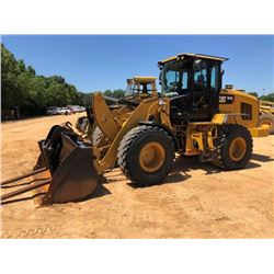 2015 CAT 924K WHEEL LOADER, VIN/SN:PWR04262 - QUICK COUPLER, GP BUCKET, FORKS, RIDE CONTROL, THIRD V