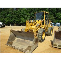 JOHN DEERE 544H WHEEL LOADER, VIN/SN:572790 - GP BUCKET, ECAB W/AC, 17.5-25 TIRES