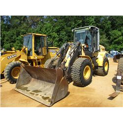NEW HOLLAND W180B WHEEL LOADER, VIN/SN:N8F203742 - QUICK COUPLER, GP BUCKET, ECAB W/AC, 20.5-25 TIRE