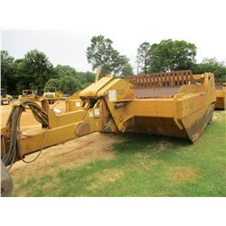 ICON 821 EARTHMOVER PULL SCRAPER, VIN/SN:6117 - EJECTOR, 21 YD CAPACITY