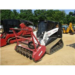 2011 TEREX PT-100G SKID STEER LOADER, VIN/SN:DTN00201 - CRAWLER, HIGH FLOW, FECON MULCH HEAD, ECAB W
