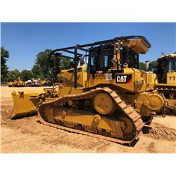 2015 CAT D6T XW CRAWLER TRACTOR, VIN/SN:WRN00505 - 6 WAY BLADE, DIFF STEER, CAT WINCH, ECAB W/AC, SW