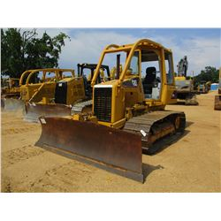 CAT D3G LGP CRAWLER TRACTOR, VIN/SN:BYR00502 - 6 WAY BLADE, ECAB, SWEEPS, METER READING 3,157 HOURS