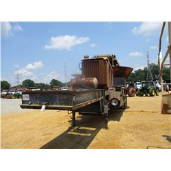 PRECISION HUSKY PROGRIND 4000 TUB GRINDER, VIN/SN:1X2X2279474 - CAT 3406 DIESEL, MTD ON T/A TRAILER,