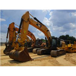 "2014 CAT 349EL HYDRAULIC EXCAVATOR, VIN/SN:TFG01096 - 11' STICK, 72"" BUCKET, REAR CAMERA, ECAB W/AC,"