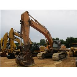 "CASE CX460 HYDRAULIC EXCAVATOR, VIN/SN:DAC461184 - 11' STICK, 54"" BUCKET, ECAB W/AC, METER READING 1"