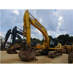 "2014 KOMATSU PC360LC-10 HYDRAULIC EXCAVATOR, VIN/SN:A33471 - 10' 6"" STICK, 54"" BUCKET, REAR CAMERA,"