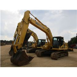 "2015 KOMATSU PC210LC-11 HYDRAULIC EXCAVATOR, VIN/SN:500018 - 9' 6"" STICK, 48"" BUCKET, THUMB, REAR CA"