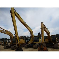 "KOMATSU PC200LC-6 LONG REACH HYDRAULIC EXCAVATOR, VIN/SN:103910 - 50' REACH, 42"" BUCKET, ECAB W/AC"