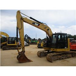 "2015 CAT 314EL CR HYDRAULIC EXCAVATOR, VIN/SN:ZJT01034 - 8"" STICK, 30"" BUCKET, ZERO TURN, REAR CAMER"