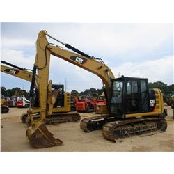 "2016 CAT 313FL HYDRAULIC EXCAVATOR, VIN/SN:DJE00138 - 10' STICK, 48"" BUCKET, THUMB, REAR CAMERA, ECA"