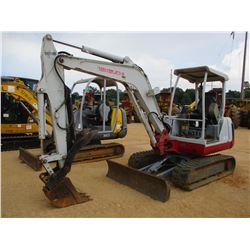 "2006 TAKEUCHI TB135 MINI EXCAVATOR, VIN/SN:13517069 - 6"" STICK, QUICK COUPLER, HYD THUMB, BLADE, CAN"