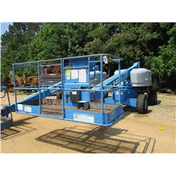 "2012 GENIE S-40 MANLIFT, VIN/SN:S4012-16561 - 4X4, 500# CAPACITY, 40' PLATFORM HEIGHT, 31' - 8"" MAX"