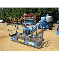 "2012 GENIE S-40 MANLIFT, VIN/SN:S4012-16512 - 4X4, 500# CAPACITY, 40' PLATFORM HEIGHT, 31' - 8"" MAX"