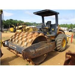"JCB VIBROMAX VM 115 ROLLER, VIN/SN:1800336 - VIBRATORY, 84"" PADFOOT DRUM, CANOPY, METER READING 3,72"