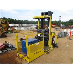 HYSTER R30XM2 ELECTRIC FORKLIFT, VIN/SN:G118N02169B - 3,000# CAPACITY, BATTERY CHARGER, 2 PERSON MAN