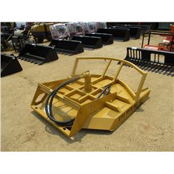 """DAVCO 70555 -72"""" HYD BRUSH CUTTER, FITS SKID STEER LOADER"""