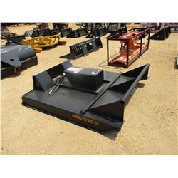 BRUSH CUTTER, - 6', FIT SKID STEER LOADER
