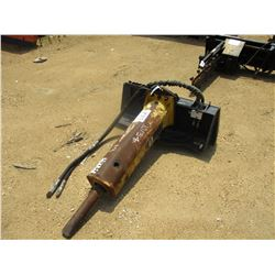 ATLAS PB420 HYD HAMMER, - FITS SKID STEER LOADER