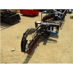 HYD TRENCHER, FITS SKID STEER LOADER