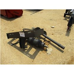 "HYD AUGER W/12"" BIT, FITS SKID STEER LOADER"