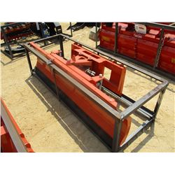 "SNOW PLOW/DOZER BLADE, - 86"", FIT SKID STEER LOADER"