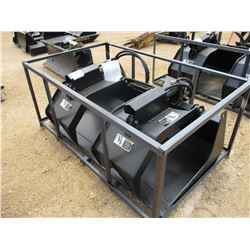 "GRAPPLE BUCKET, - 72"", FIT SKID STEER LOADER"