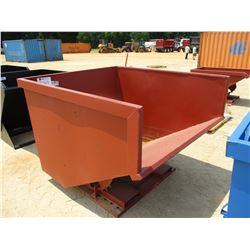 SELF DUMPING HOPPER 3 YARD
