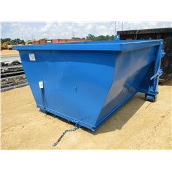 7 YD FORKLIFT / TELEHANDLER JOBSITE DEBRIS BOX (IDEAL FOR COMMERCIAL ROOFING)