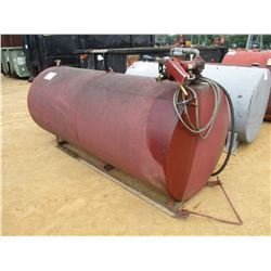 FUEL STORAGE TANK, - 12 VOLT PUMP W/HOSE