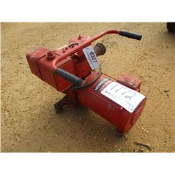 HOMELITE GENERATOR, - 120/240 VOLT GAS ENGINE