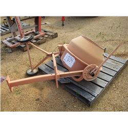 CEMENT MIXER, ELECTRIC MOTOR