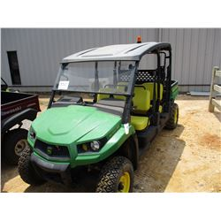 2015 JOHN DEERE XUV-550S4 SIDE BY SIDE, VIN/SN:1M0550FBAFM040572 - 4x4, GAS ENGINE, WINDSHIELD, DUMP
