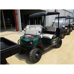2015 EZ-GO TERRAIN 250 GOLF CART, VIN/SN:3099102 - DUMP BED, WINDSHIELD, CANOPY