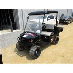 2015 EZ GO TERRAIN GOLF CART, VIN/SN:3095271 - GAS ENGINE, WINDSHIELD, DUMP BED, METER READING 190 H