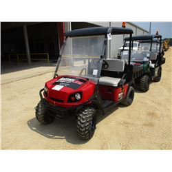 2015 EZ GO TERRAIN GOLF CART, VIN/SN:3099088 - GAS ENGINE, WINDSHIELD, DUMP BED, METER READING 575 H