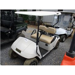 EZ-GO GOLF CART, VIN/SN:1078557 - 36 VOLT ELECTRIC, NEW BATTERIES (CHARGER IN CHECK OUT OFFICE)