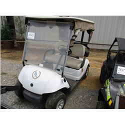 2012 YAMAHA YDREX3 GOLF CART, VIN/SN:JW9F423620 - 48V ELECTRIC, WINDSHEILD, CURTAINS, CANOPY (BATTER