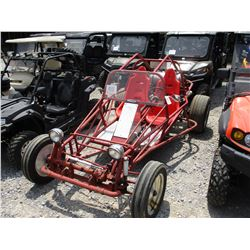 SHOP BUILT DUNE BUGGY, - GAS ENGINE, ROLL BAR, MANUAL TRANS, ODOMETER READING 55,888 MILES