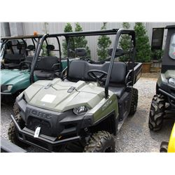 POLARIS 570 RANGER VIN/SN:3NSRCA575GG517423 - 4X4, GAS ENGINE, DUMP BED, METER READING 1,472 HOURS