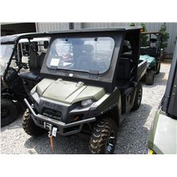 2010 POLARIS RANGER XP 800 UTV, VIN/SN:4XATF776AXA2885447 - 4X4, WINCH, WINDSHIELD, CANOPY, DUMP BED
