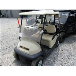 CLUBCAR GOLF CART, VIN/SN:PQ1141237227 - ELECTRIC, CANOPY, WINDSHIELD
