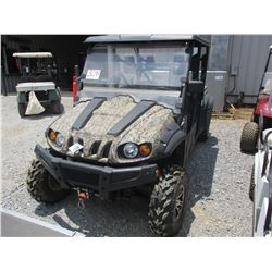 SIDE BY SIDE UTILITY VEHICLE, - GAS ENGINE, CANOPY, WINDSHIELD, DUMP BED