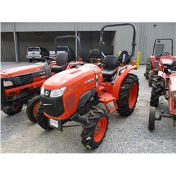 2016 KOBOTA L3310D FARM TRACTOR, VIN/SN:63400 - MFWD, 3 PTH, PTO, ROLL BAR, 11.2-24 REAR TIRES, 7.2-